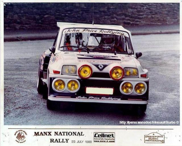 John Price Rallying T7010