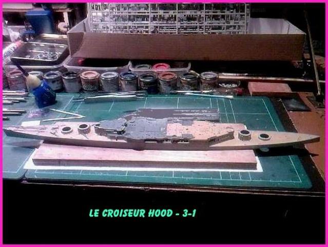 CONSTRUCTION DE LA MAQUETTE DU HOOD 1941 au 700 TRUMPETER Hood-310