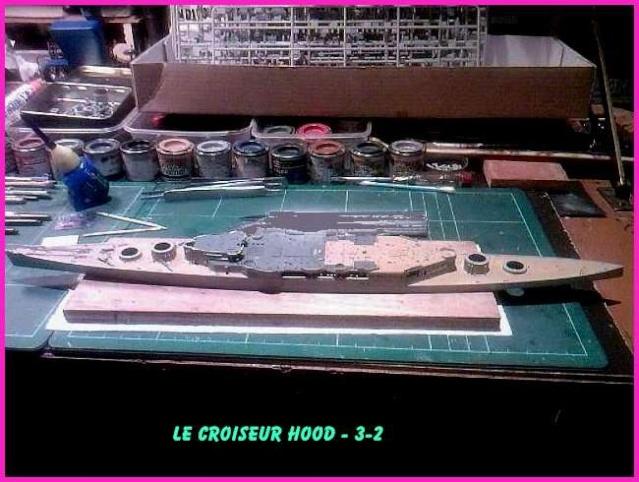 CONSTRUCTION DE LA MAQUETTE DU HOOD 1941 au 700 TRUMPETER Hood-311