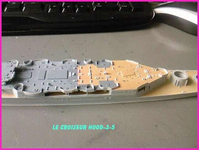 CONSTRUCTION DE LA MAQUETTE DU HOOD 1941 au 700 TRUMPETER Hood-314