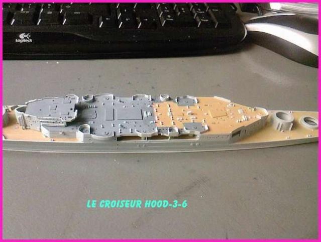 CONSTRUCTION DE LA MAQUETTE DU HOOD 1941 au 700 TRUMPETER Hood-316