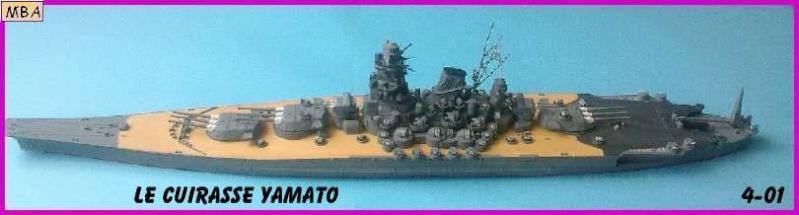 CONSTRUCTION DE LA MAQUETTE DU YAMATO AU 700 TAMIYA - Page 2 Le_yam10