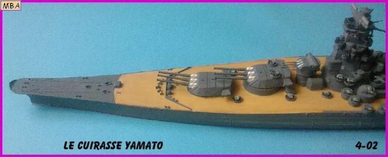 CONSTRUCTION DE LA MAQUETTE DU YAMATO AU 700 TAMIYA - Page 2 Le_yam11