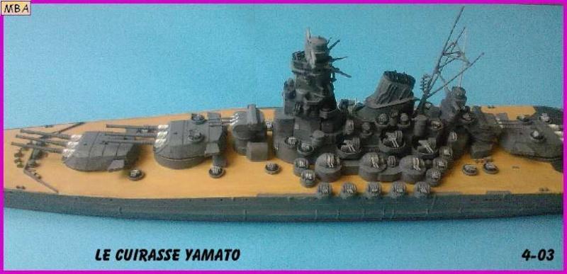 CONSTRUCTION DE LA MAQUETTE DU YAMATO AU 700 TAMIYA - Page 2 Le_yam12