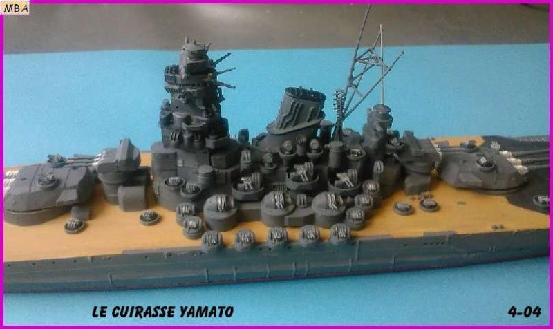 CONSTRUCTION DE LA MAQUETTE DU YAMATO AU 700 TAMIYA - Page 2 Le_yam13