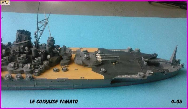 CONSTRUCTION DE LA MAQUETTE DU YAMATO AU 700 TAMIYA - Page 2 Le_yam14