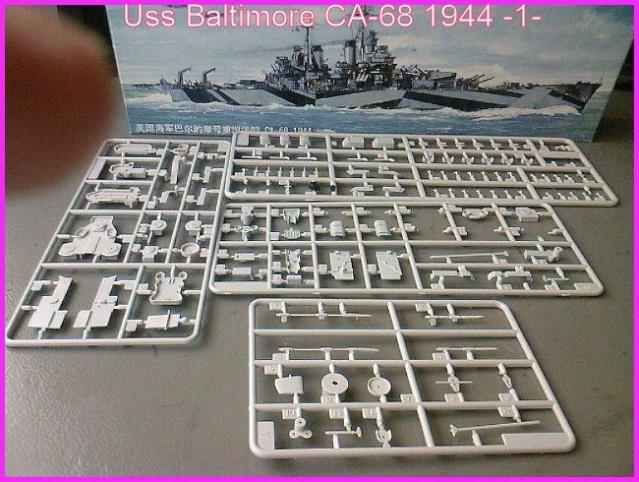 LE USS BALTIMORE CA-68 DE CHEZ TROMPETER AU 700 Ussbal12