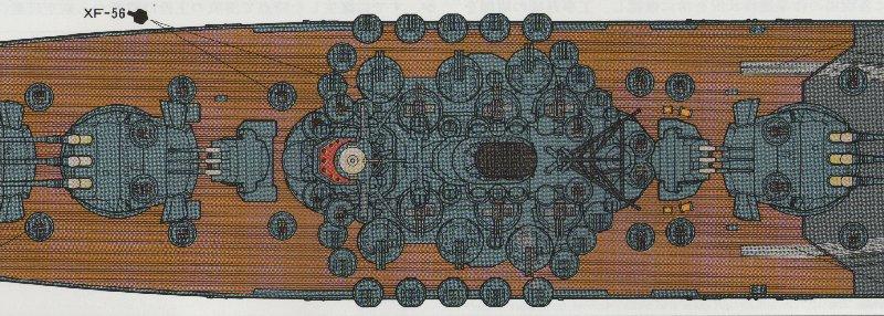 CONSTRUCTION DE LA MAQUETTE DU YAMATO AU 700 TAMIYA Yamato14