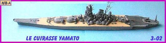 CONSTRUCTION DE LA MAQUETTE DU YAMATO AU 700 TAMIYA Yamato20