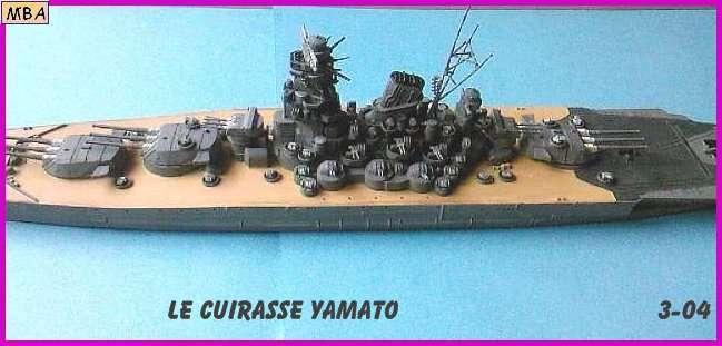 CONSTRUCTION DE LA MAQUETTE DU YAMATO AU 700 TAMIYA Yamato22