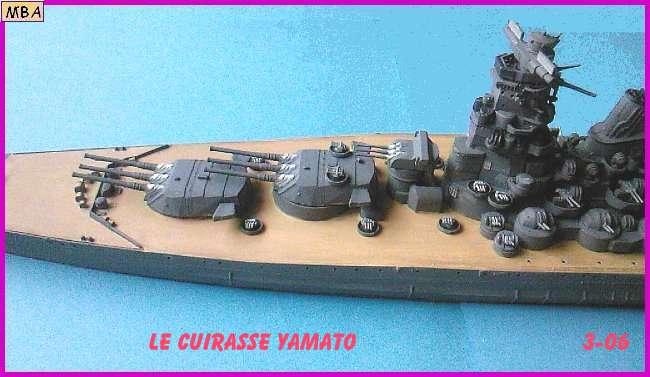 CONSTRUCTION DE LA MAQUETTE DU YAMATO AU 700 TAMIYA Yamato24