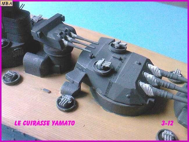 CONSTRUCTION DE LA MAQUETTE DU YAMATO AU 700 TAMIYA Yamato30