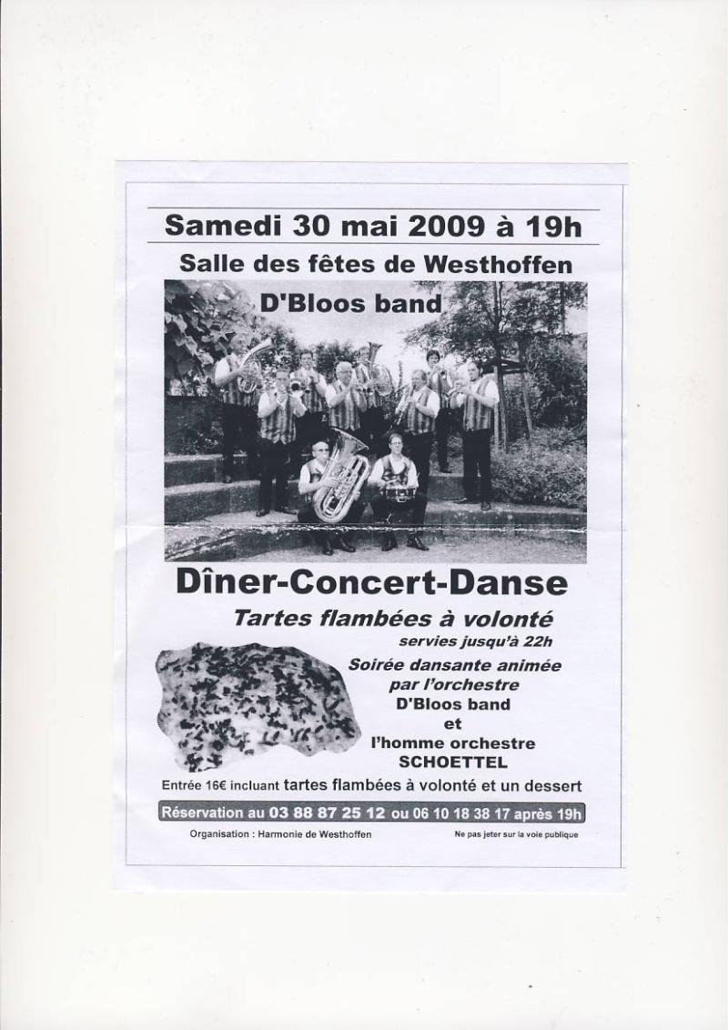 Soirée dansante animée par  D'Bloos band le 30 mai 2009 à Westhoffen Image018