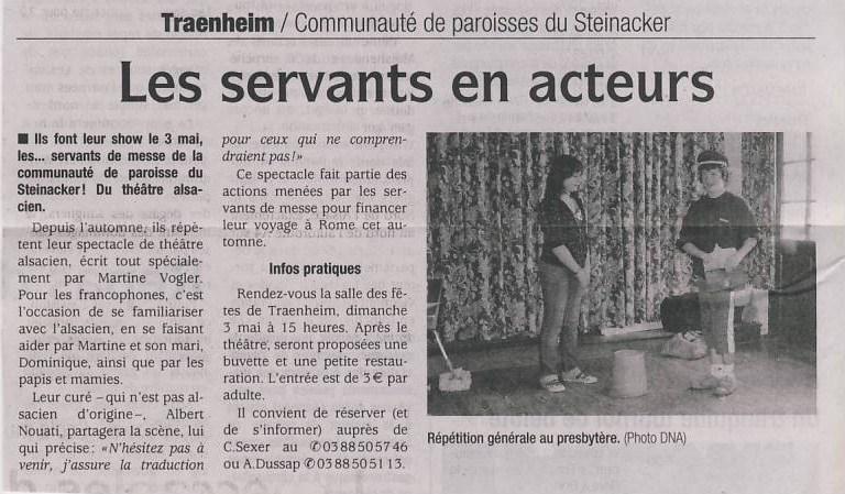 Thêatre alsacien de la communauté de paroisses du Steinacker le 3 mai 2009 à 15h Image050