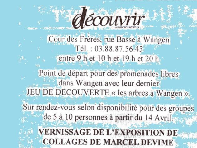 """L'association """"Découvrir"""" à Wangen Img07910"""