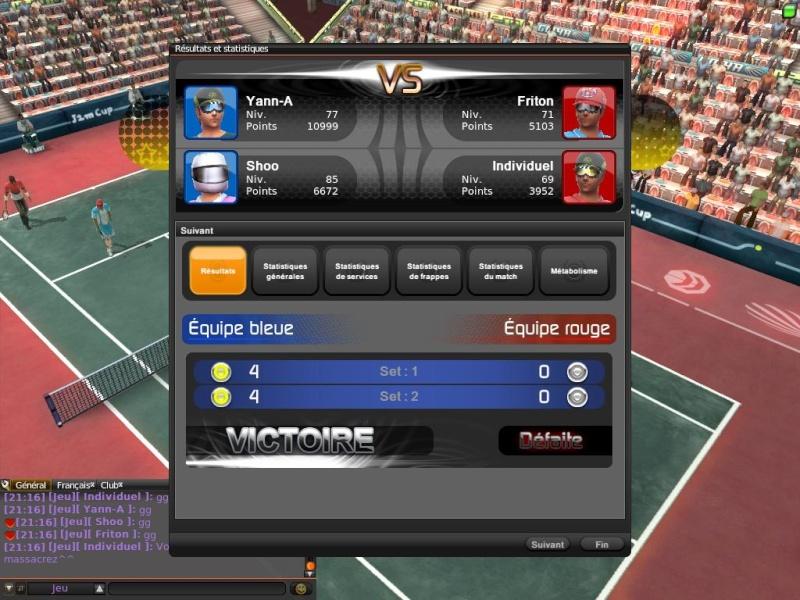 2ème tour : Ananthony/Methakgool - Games/Redapple (TERMINE) Tennis10
