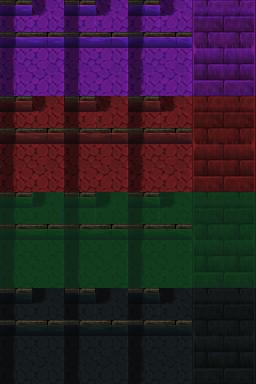 Auto-tile de rivière (ville) RTP de plusieurs couleurs Tilea113