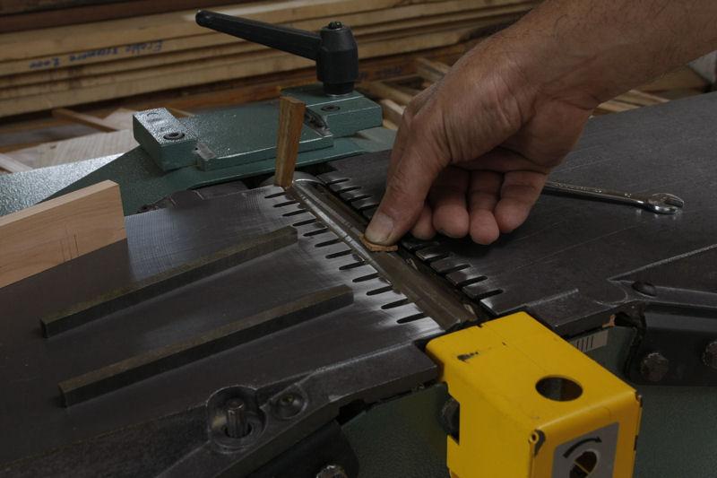 Changement et réglage des fers de rabot/dégau 03_aou22