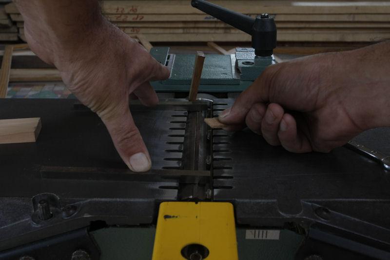 Changement et réglage des fers de rabot/dégau 03_aou23