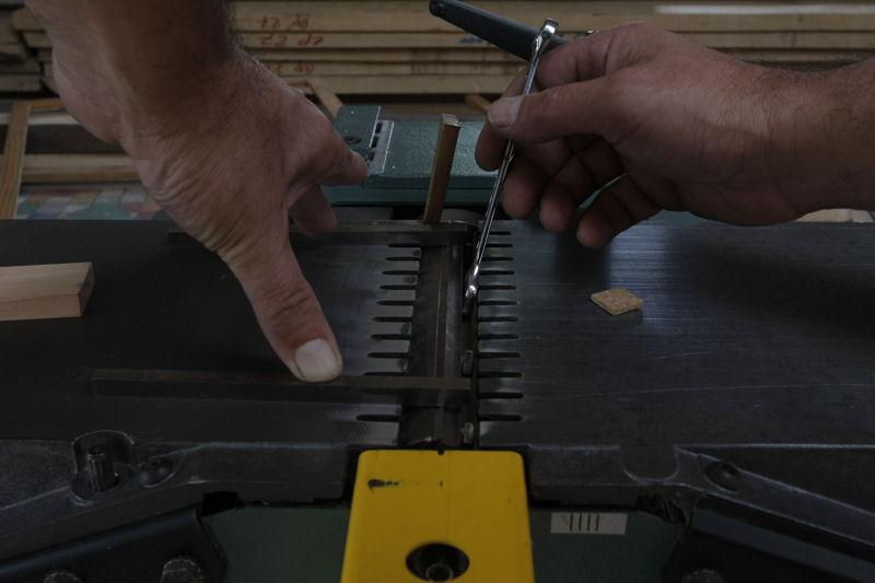 Changement et réglage des fers de rabot/dégau 03_aou24