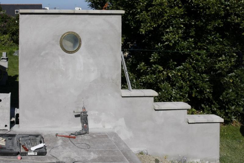Incérer un hublot dans un mur. 06_mai12