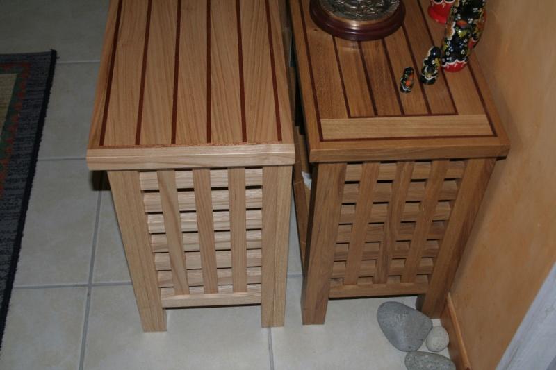 Essences de bois: Chêne et châtaignier. 30010
