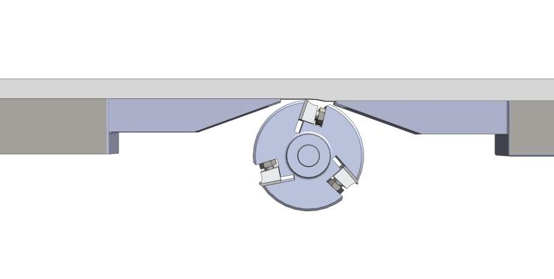 Changement et réglage des fers de rabot/dégau Assemb30