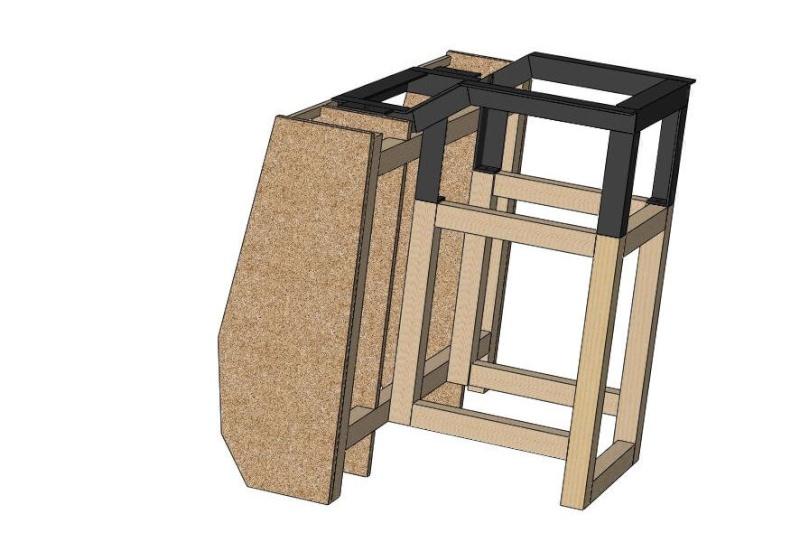 Scie à format maison, suite et fin. Assemb54