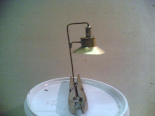 Autocostruirsi una lampara. Lampar11