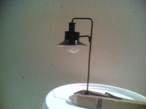 Autocostruirsi una lampara. Lampar12