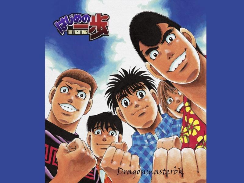 Hajime no ippo, serie y new challenger Ny7ath10