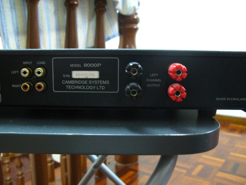 Audiolab 8000P power amp (Used) SOLD Al210