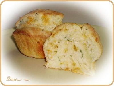 Muffin fromage ail et fines herbes Jjjj10