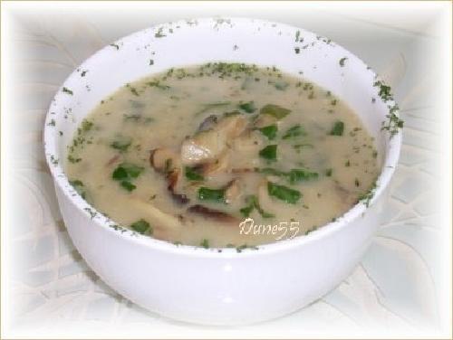 Crème de champignons rôtis Ok14