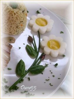 Décoration d'assiette petites marguerites Pict0045