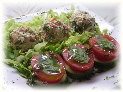 Salade de thon aux petits légumes Pict4112