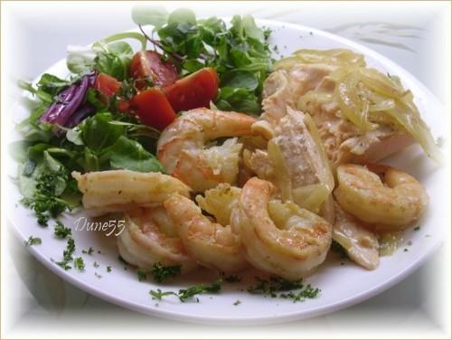 Saumon aux oignons Pict5612