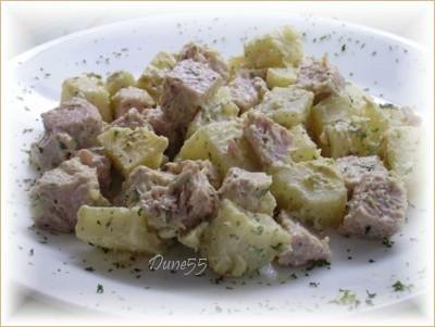 Salade de pommes de terre et de jambon Pict9514