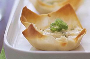 Coupes au crabe et au fromage (hors-d'oeuvre Kraft) Rec_r111