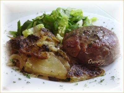 Steak haché prosciutto  Sans_t18