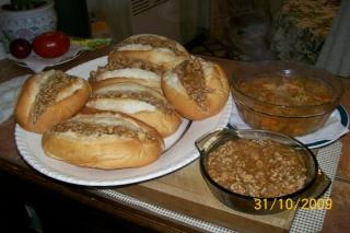 Petits pains au gumbo Souper11