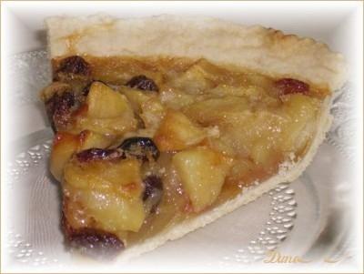 Tarte aux pommes et raisins Tarte10