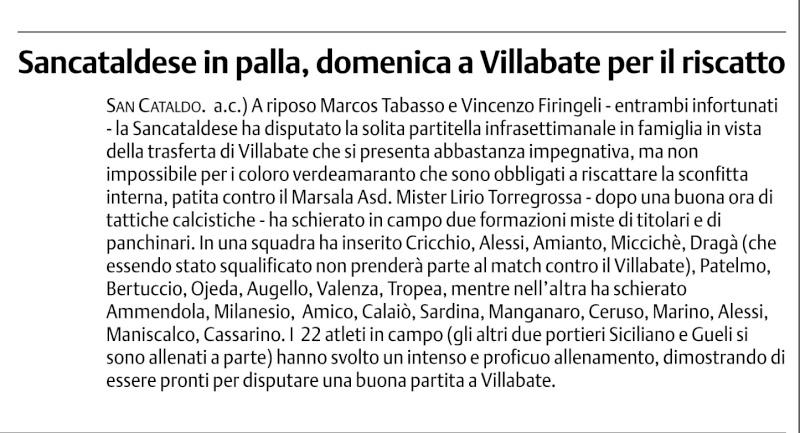 Campionato 3° giornata: Villabate - Sancataldese 2-0 12310