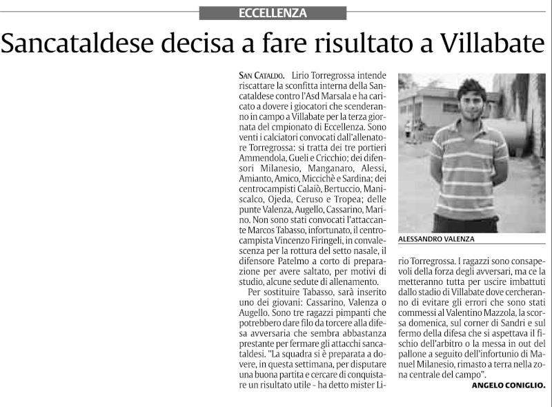 Campionato 3° giornata: Villabate - Sancataldese 2-0 Hgfghf10