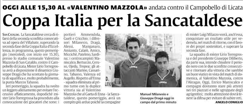 Coppa Italia Sancataldese Campobello di licata Jkhukh10