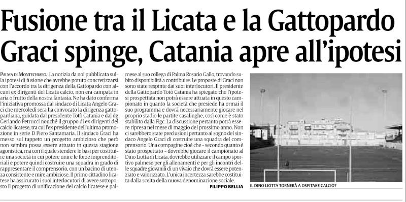 Il Licata radiato dal mondo del calcio siciliano Lct10
