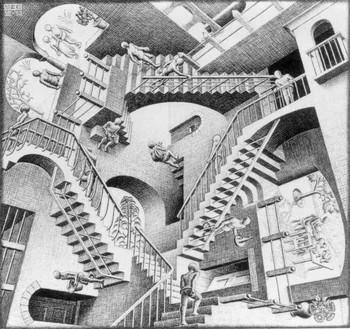L'ILLUSION le trompe l'oeil Escher13