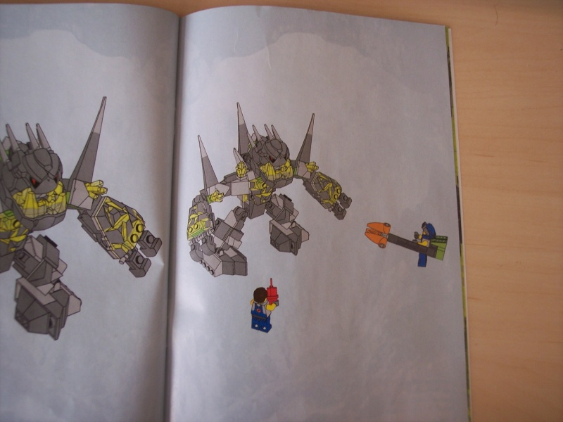 [Lego] Review Power Miners : Cristal King 100_3915