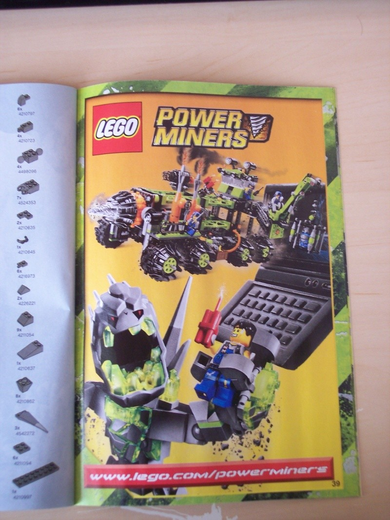 [Lego] Review Power Miners : Cristal King 100_3917