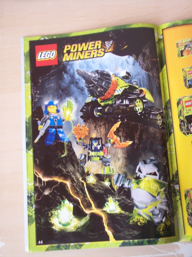 [Lego] Review Power Miners : Cristal King 100_3922